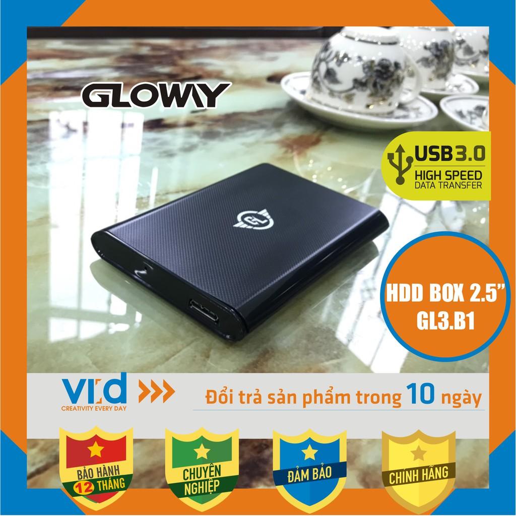 Box ổ cứng, HDD Box Gloway ( GL.B1 ) USB 3.0 - Sản phẩm chính hãng - Bảo hành 12 tháng !!!