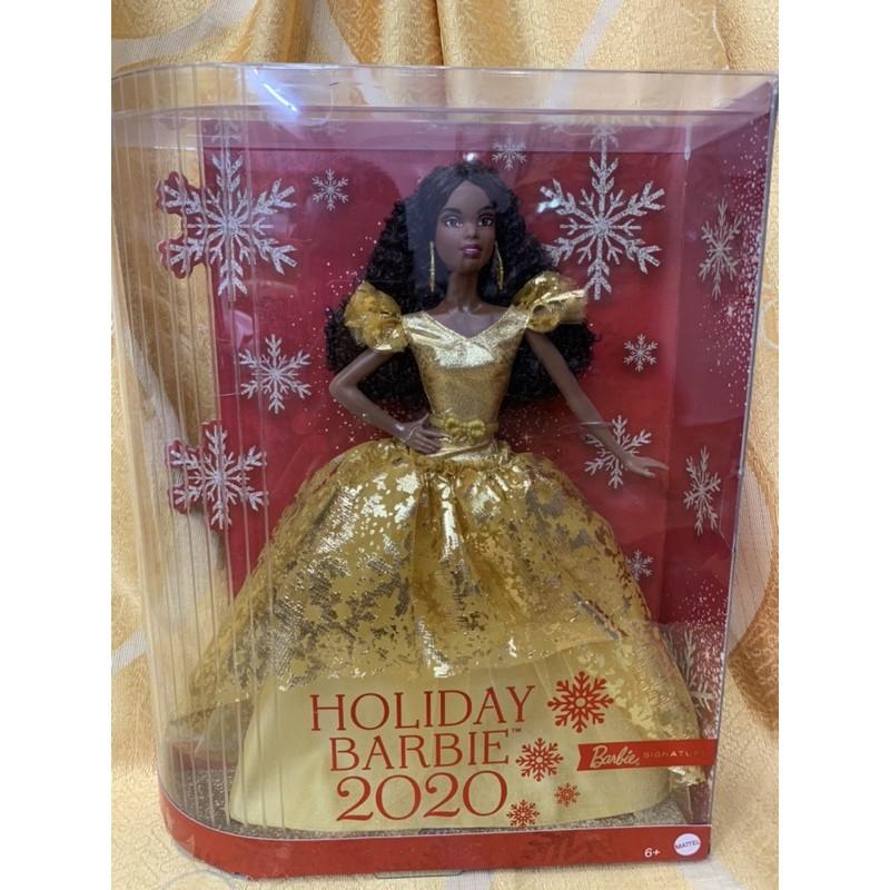 Búp bê barbie Holiday 2020 da màu