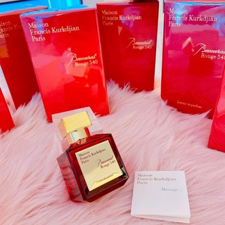 Nước Hoa Baccarat Rouge 540 Extrait De Parfum Fullsize 70ml