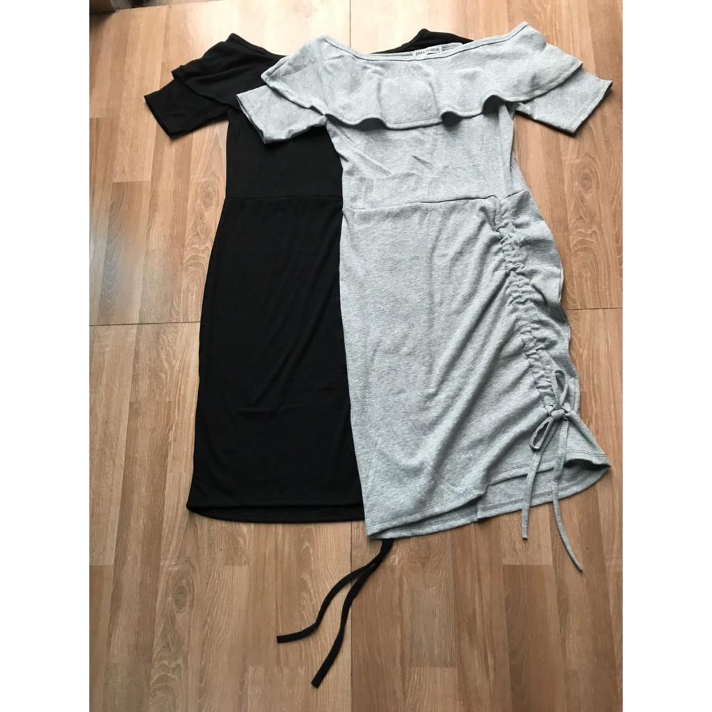 Mặc gì đẹp: Sang chảnh với Đầm dự tiệc ღ FREESHIP ღ Váy ôm body trễ vai rút dây thời trang cao cấp XIXO - DAM0028