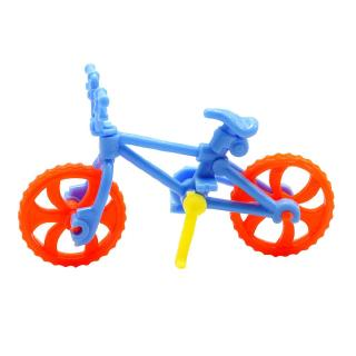 1set DIY Assembled Bicycle Toy Mini Bike Plastic Toys for Kid Education Kit