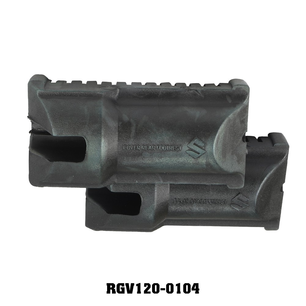 Cao su gác chân trước RGV (Zin) cặp (RG/RGV/ST2K) SUZUKI SPORT - SU XIPO - RG 110 - RGV 120 - SATRIA 2000