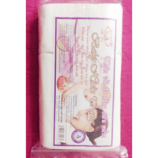 Set 10 gói khăn vải khô đa năng baby Hiền Trang