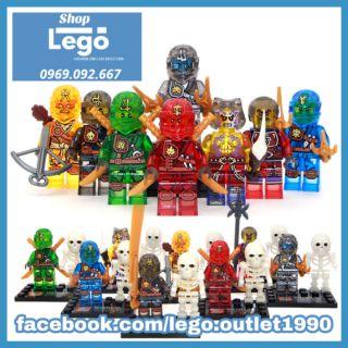 Xếp hình Ninjago siêu cổ 2015 Lego Minifigures SY292 thumbnail