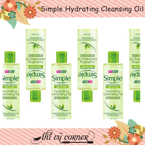 Dầu Tẩy Trang Simple Hydrating Cleansing Oil 125ml (bill uk) - 2462578 , 227400942 , 322_227400942 , 200000 , Dau-Tay-Trang-Simple-Hydrating-Cleansing-Oil-125ml-bill-uk-322_227400942 , shopee.vn , Dầu Tẩy Trang Simple Hydrating Cleansing Oil 125ml (bill uk)