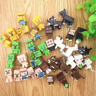 Combo 36 nhân vật Minecraft Mini Figure