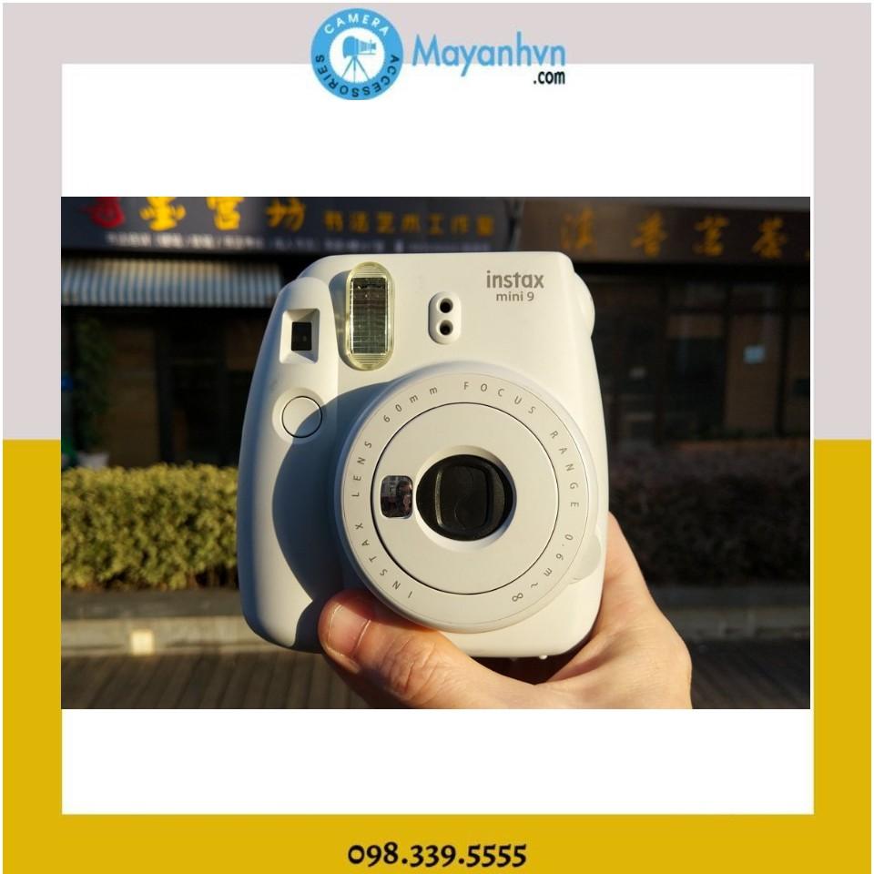 Máy chụp ảnh lấy ngay Fujifilm Instax Mini 9 Clear ( Chính hãng- Bảo hành 12 tháng) + 10 tấm ảnh
