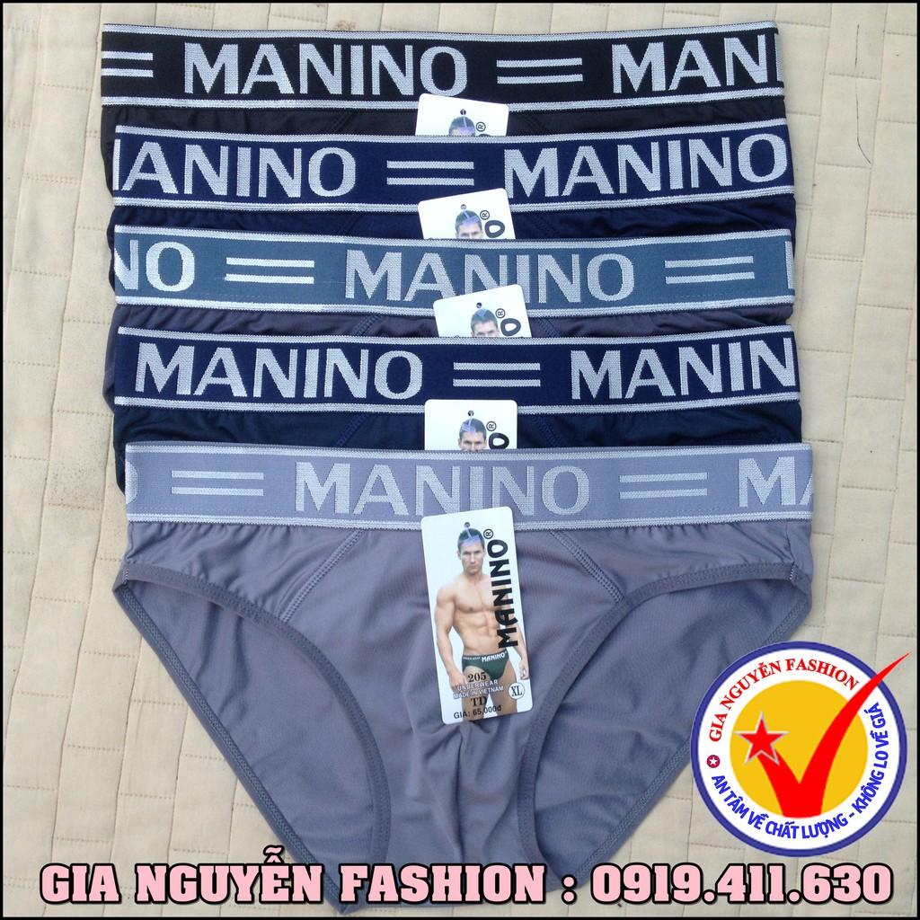Combo 5 Quần lót nam Siêu nhẹ hiệu MANINO - Hàng VN cao cấp