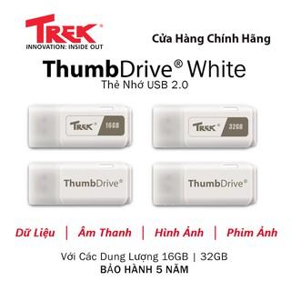 TREK USB 2.0 Flash 16GB 32GB TRẮNG thumbnail
