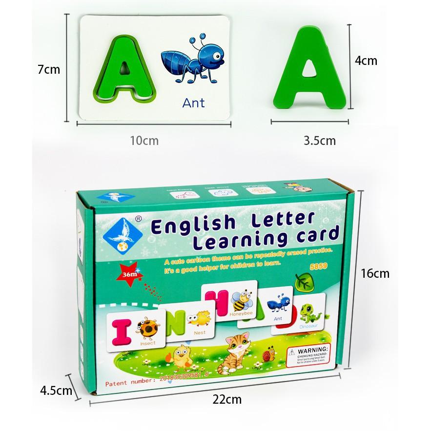 Bộ thẻ giúp bé học tiếng anh_SocNhi