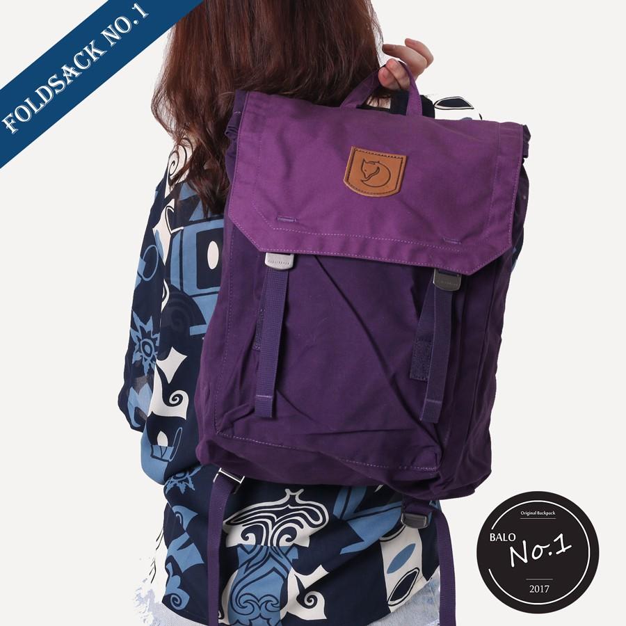 [Chính Hãng] Balo Fjallraven Foldsack No. 1 Alpine Purple Amethyst - 3040426 , 511936906 , 322_511936906 , 899000 , Chinh-Hang-Balo-Fjallraven-Foldsack-No.-1-Alpine-Purple-Amethyst-322_511936906 , shopee.vn , [Chính Hãng] Balo Fjallraven Foldsack No. 1 Alpine Purple Amethyst