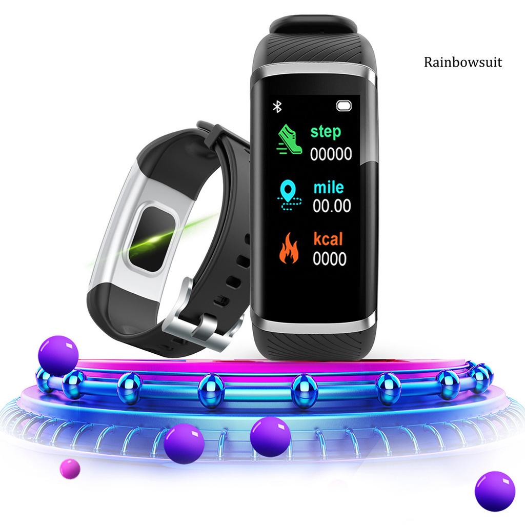 Vòng Đeo Tay Thông Minh Rb- M8 Bluetooth 4.0 Đa Năng Có Thể Sạc Lại