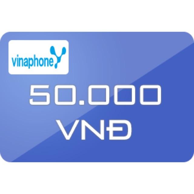 Thẻ vinaphone 50