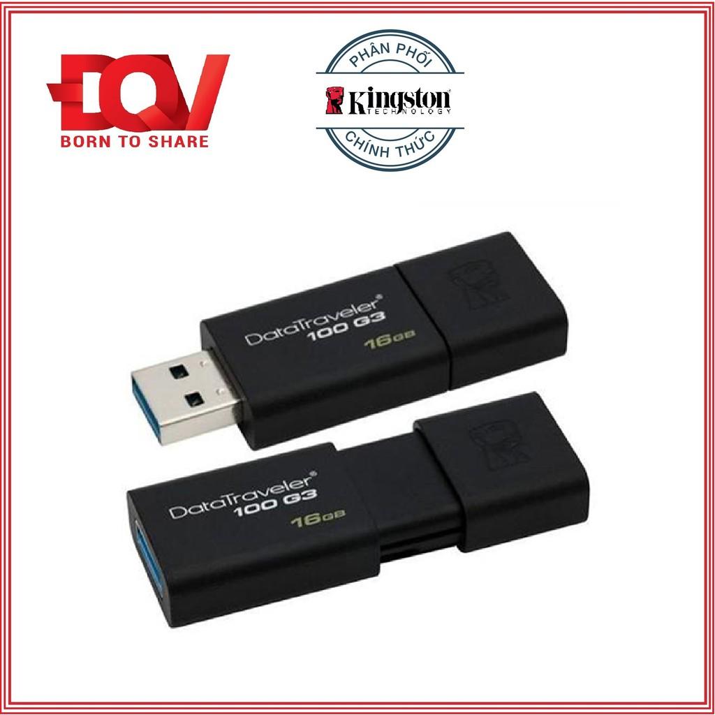 (BH 5 năm) USB 3.0 Kingston 16GB 100G3 Đen - Hãng phân phối chính thức - 10084566 , 243149102 , 322_243149102 , 169000 , BH-5-nam-USB-3.0-Kingston-16GB-100G3-Den-Hang-phan-phoi-chinh-thuc-322_243149102 , shopee.vn , (BH 5 năm) USB 3.0 Kingston 16GB 100G3 Đen - Hãng phân phối chính thức