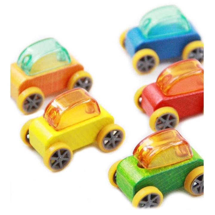 Ô tô đồ chơi bằng gỗ (kích thước 4.5*2*3.5cm)
