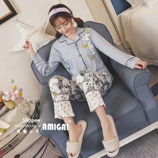 Set Đồ Pijama Thời Trang Cho Nữ