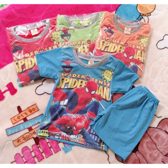 Bộ quần áo siêu nhân cho bé trai
