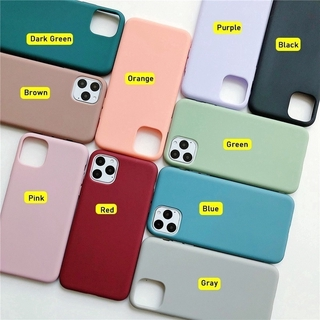 Ốp Điện Thoại Silicone Mềm Màu Trơn Mặt Nhám Cho Samsung Galaxy A50 A30S A50S A70 A20 A30 A10S A20S 2
