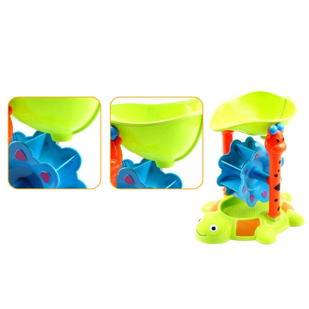 Beach Sand Play Toys Set Children Kids Seaside Bucket Shovel Rake Toy Kit