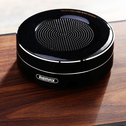 Loa Bluetooth tròn mini Remax RB - M13 - Pin Trâu - Bass Ấm - Chính Hãng