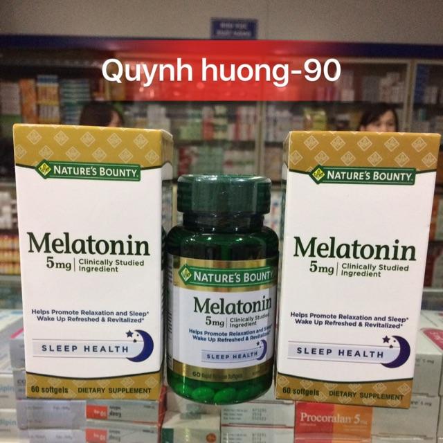 Melatonin 5mg - Cho bạn giấc ngủ tự nhiên