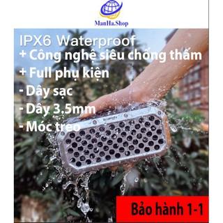 Loa Bluetooth IPX6 chống nước hút chân không, Âm thanh bass siêu hay, Công nghệ chống nước, chống va đập thumbnail