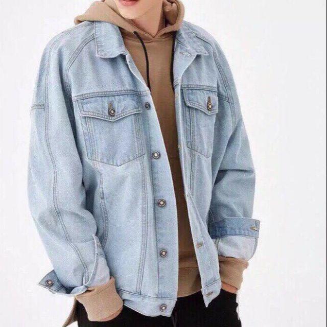 Áo khoác jeans nam - Áo khoác jeans