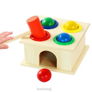Hit Hamster Childhood Learning Interactive Easy Apply Early Education Wooden Toys
