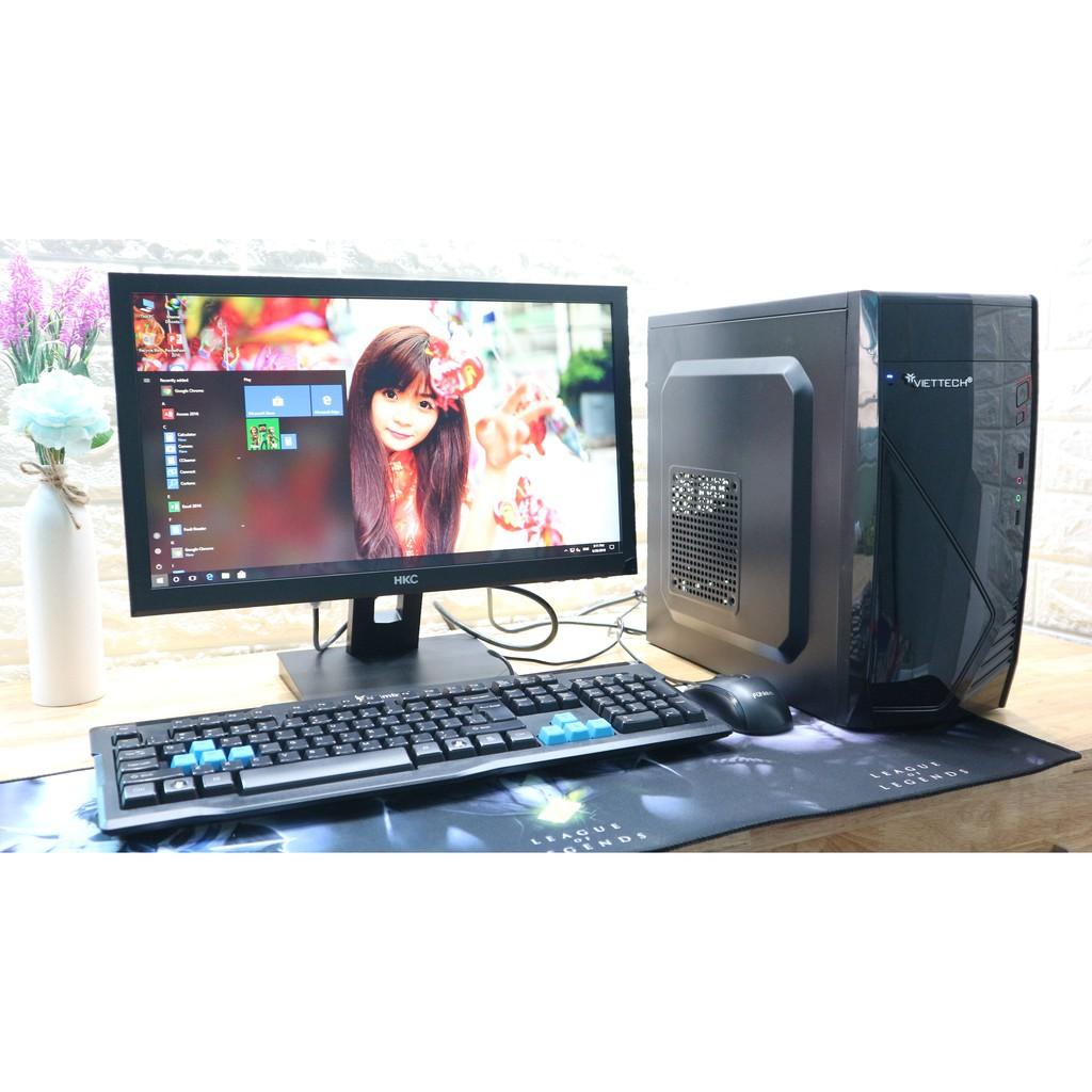 Bộ máy tính văn phòng giá rẻ – BH 12 tháng Giá chỉ 4.850.000₫