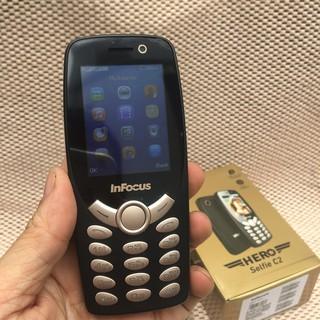 Điện thoại phụ Pin cực trâu- Infocus Hero Selflife IF9012 Pin Trâu 1800 MAh -2 Sim
