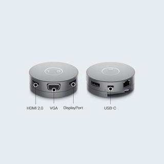 Bộ chuyển đổi (Hub) DELL DA310 Hỗ Trợ Samsung DEX - USB C to HDMI VGA DP Ethernet USBC USB-A - Hàng Chính Hãng thumbnail