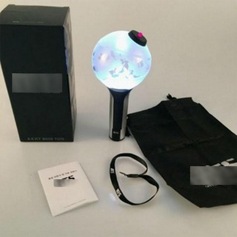 (Unoff) Bomb Bts ver 2 Lightstick Bts ver 2 đèn phát sáng Bts gậy cổ vũ ánh sáng hòa nhạc phát sáng nhóm nhạc