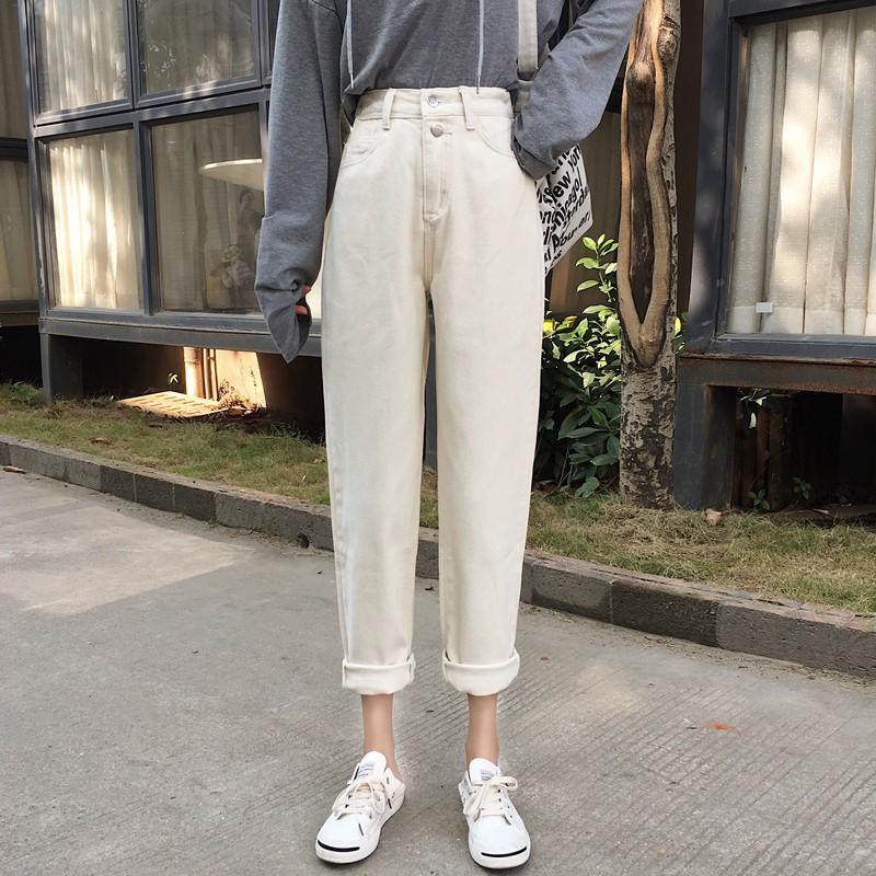 quần jean cạp cao