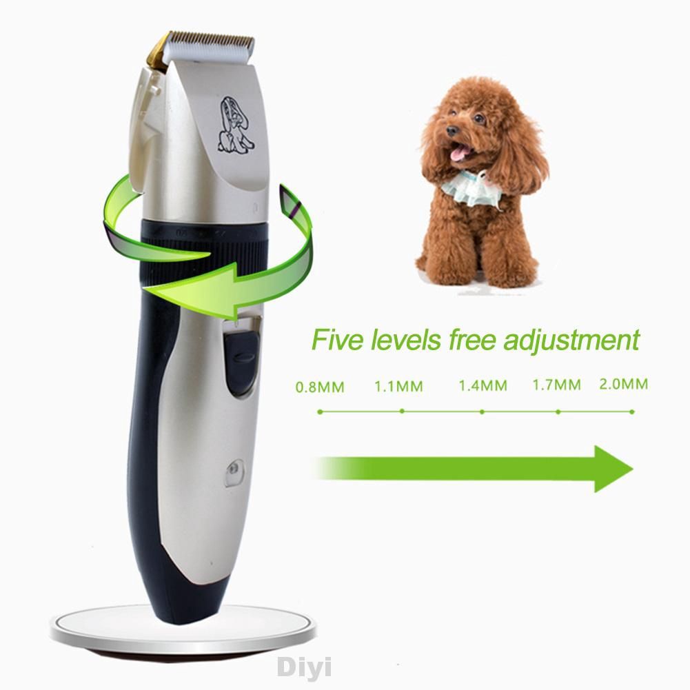 Hair Clipper Electric Grooming Cordless Cleaning Brush Combs Low Noise Kit Shaver