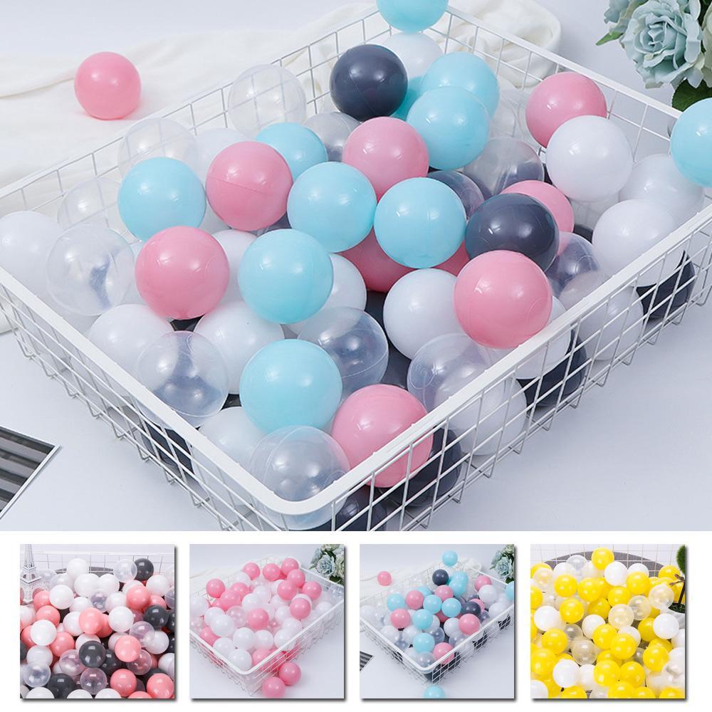 100pcs/Set Mixed Color Soft Plastic Ocean Ball Baby Kid Developmental toy