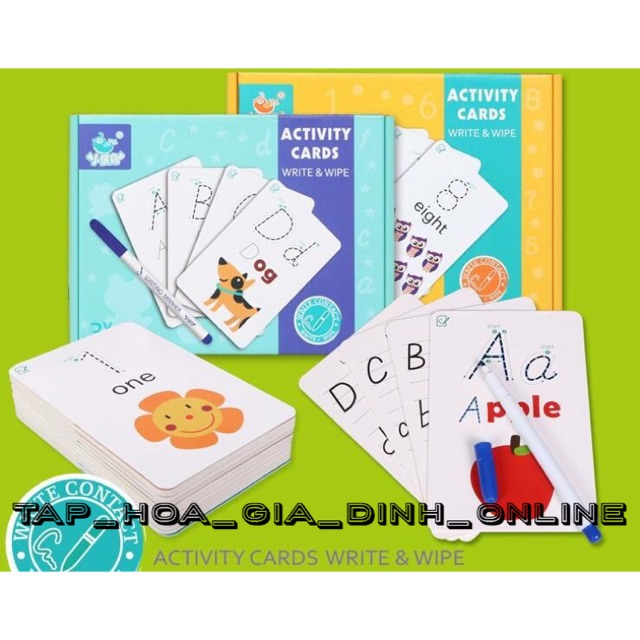 Thẻ tô màu Bộ chữ và Bộ Số (xoá được để dùng nhiều lần) - 10006323 , 1271726390 , 322_1271726390 , 165000 , The-to-mau-Bo-chu-va-Bo-So-xoa-duoc-de-dung-nhieu-lan-322_1271726390 , shopee.vn , Thẻ tô màu Bộ chữ và Bộ Số (xoá được để dùng nhiều lần)
