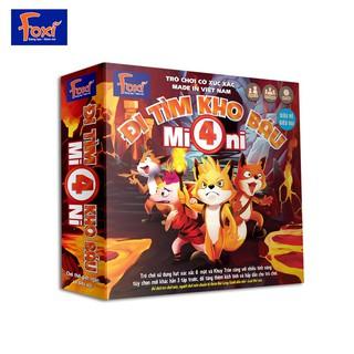 Trò Chơi – Cờ Xúc Xắc – Đi Tìm Kho Báu Mini 4 (Foxi)