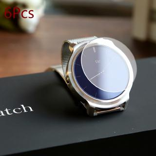 Bộ 6 Miếng Dán Bảo Vệ Mặt Đồng Hồ Thông Minh Ticwatch/Pro/Watch 2 /Io/Lg