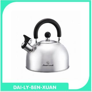Ấm đun nước Inox 304 Smartcook 3372 - Elmich 2,5 lít đáy từ