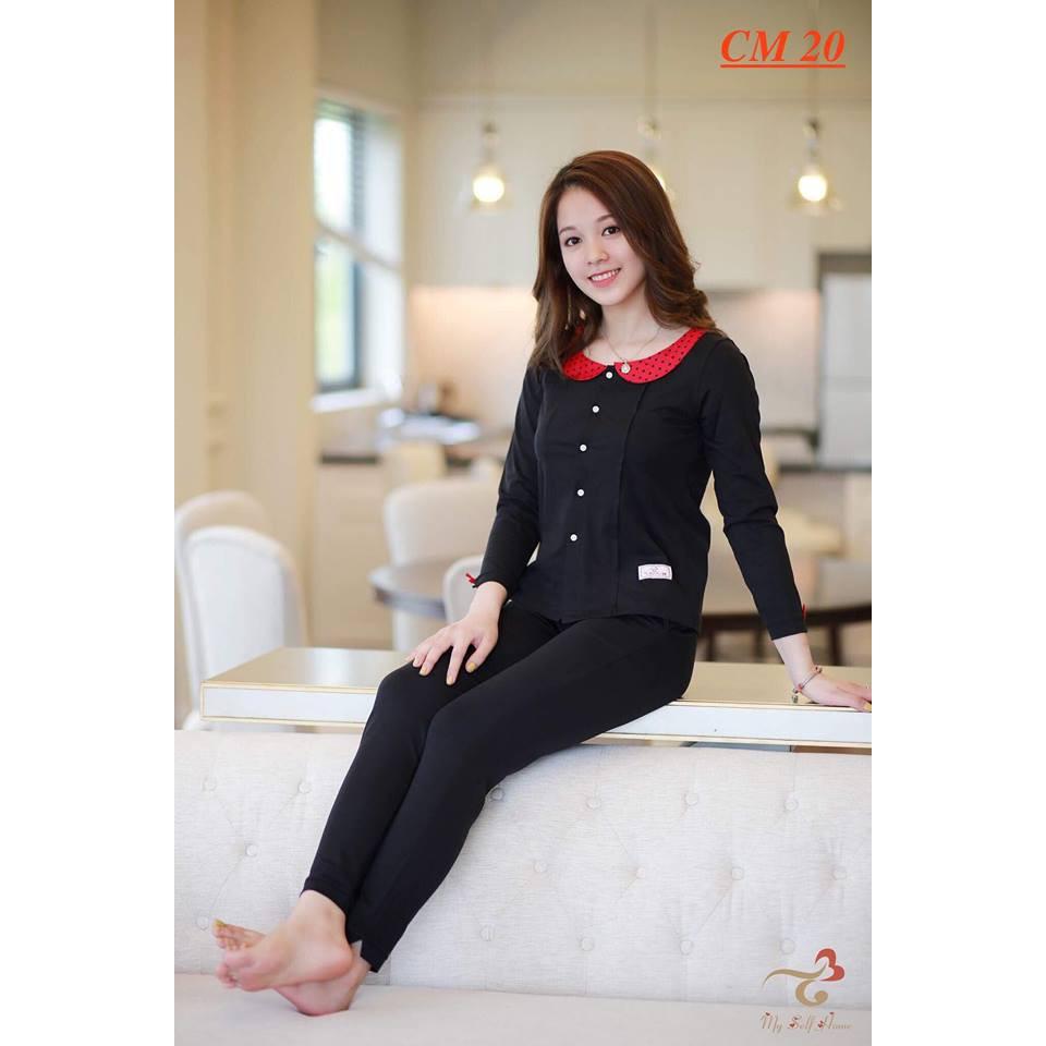 Đồ bộ mặc nhà 3T My Self Home - Bộ thể thao cotton quần dài ,áo dài -CM20