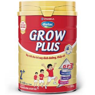 Sữa Dielac Grow Plus 2+, Vinamilk, 900g, 2-10 Tuổi