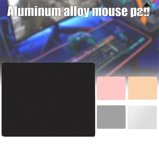 Mouse Pad Metal Aluminum Mousepad Double Side Waterproof Ultra Smooth Mouse Pad for Office and Gaming