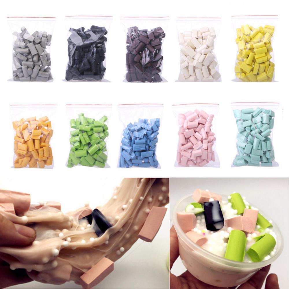 Whole Sale 70pcs Sponge Strip DIY Slime Clay Supplies Accessories Toys Set