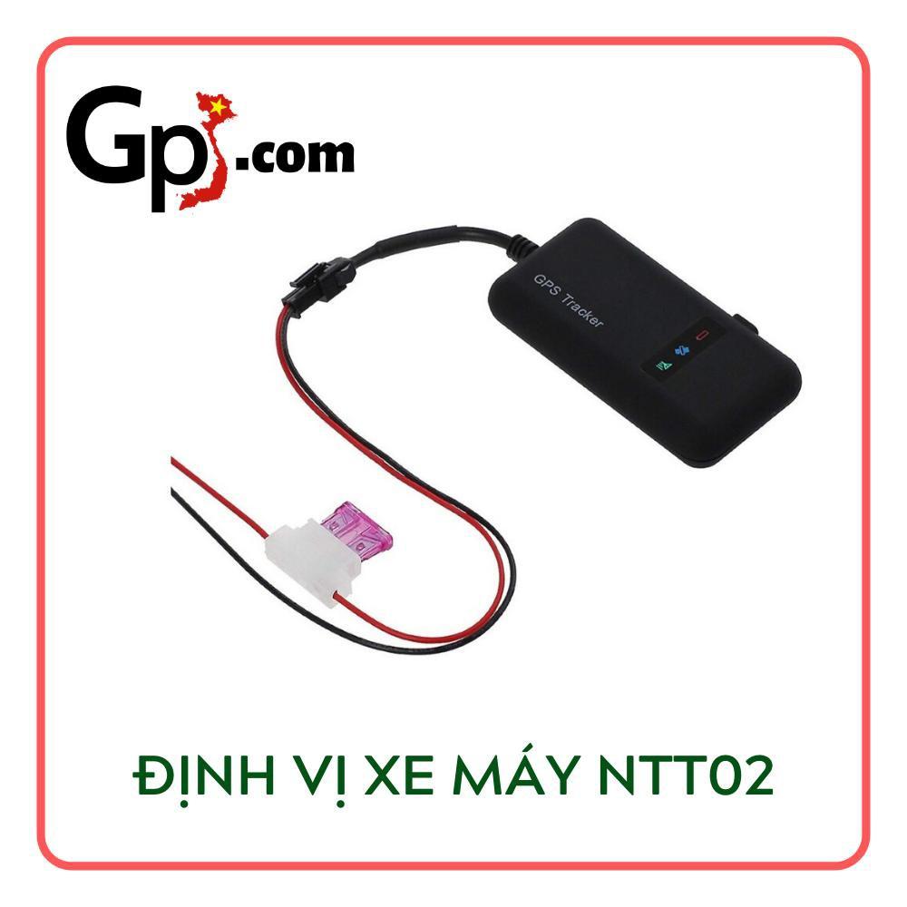 Định Vị Theo Dõi Xe Máy, Ô tô GPS NTT02 chính hãng giá tốt