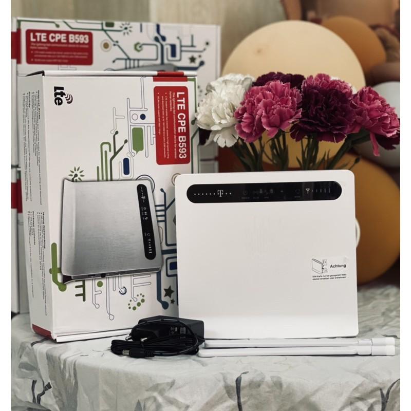 [Mã 267ELSALE hoàn 7% đơn 300K] Phát wifi từ Sim 3G/4G Huawei B593 ( hàng mới)