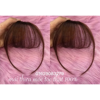 Mái thưa tóc thật ❤️FREESHIP❤️ Giảm 5k khi nhập mã [ TOCGIADEP] - Mái thưa hàng dệt tay tóc thật 100%