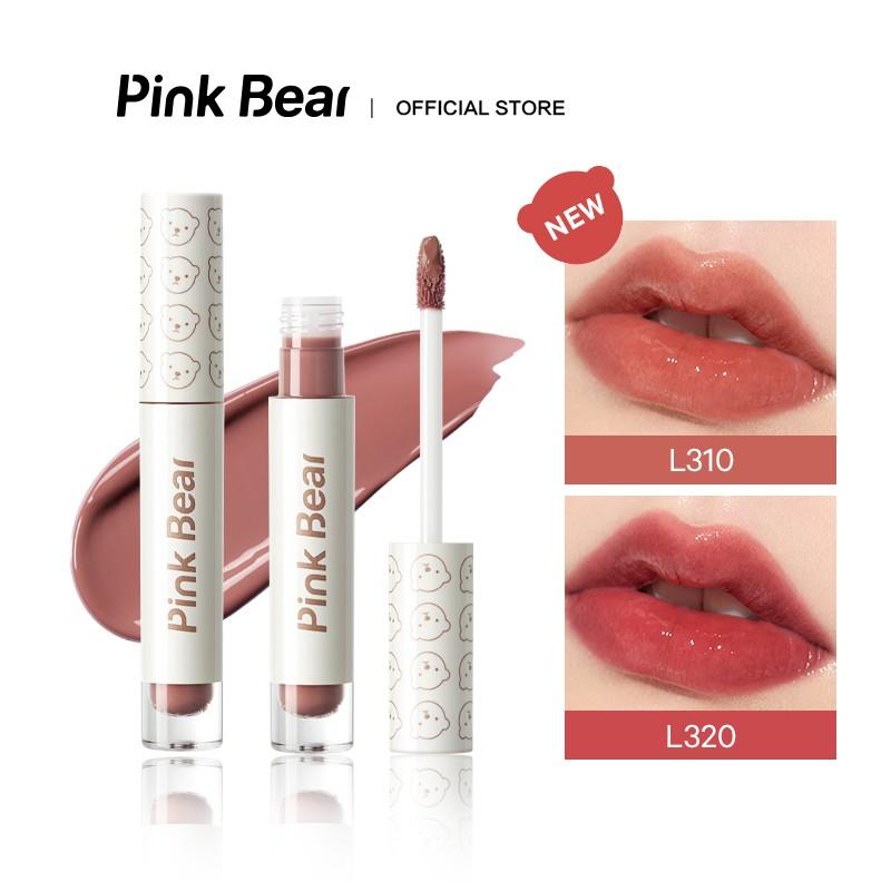 Son kem Pink Bear Glass Shine Liquid Hydrating Long-lasting 2.5g   Shopee  Việt Nam