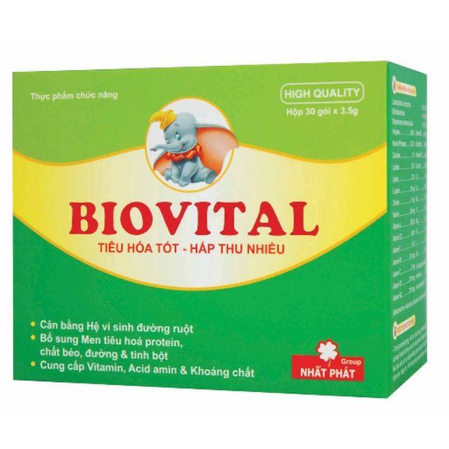Cốm Biovital bổ sung men vinh hộp 30 gói