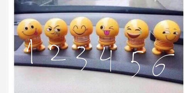 Emoji 6 hình biểu cảm