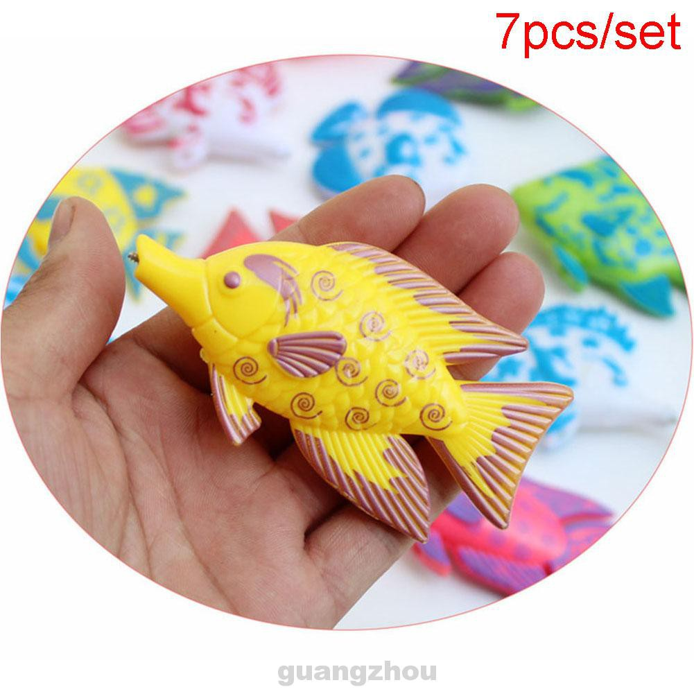 1-2 Set Magnetic Fishing Toy Fish Rod Model Game For Kids Baby Bath Time